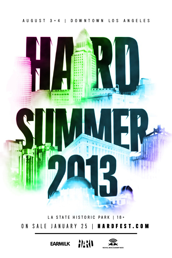 HardSummer2013-Poster
