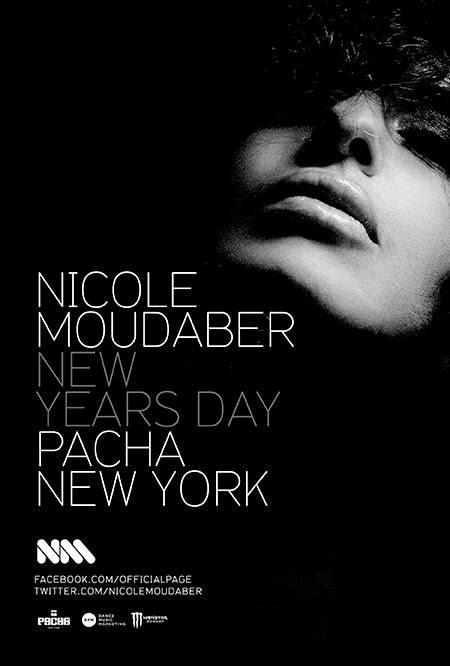 Nicole Moudaber Tickets at Pacha NYC Wed. Jan. 1st NYE 2014!