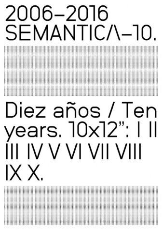 Semantica 10 Years Artwork